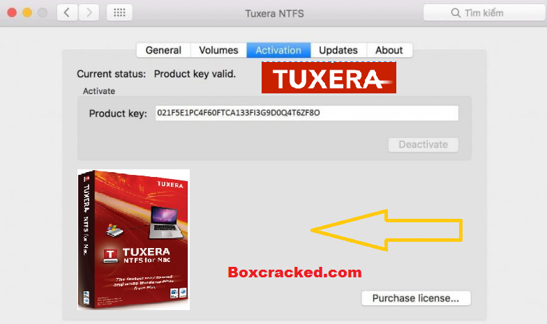 Tuxera NTFS Key